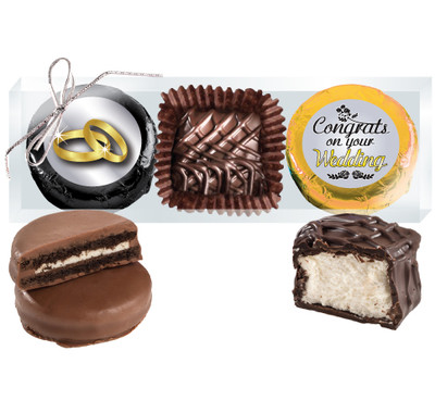 Wedding Cookie Talk Chocolate Oreo & Marshmallow Trio