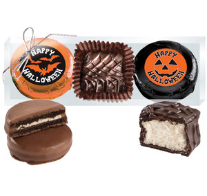 Halloween Cookie Talk Chocolate Oreo & Marshmallow Trio