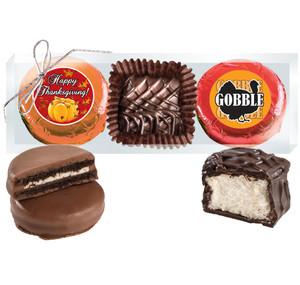 Thanksgiving Cookie Talk Chocolate Oreo & Marshmallow Trio