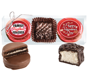 Valentine's Day Cookie Talk Chocolate Oreo & Marshmallow Trio - Family