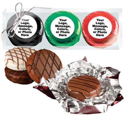 Custom Chocolate Oreo Trio