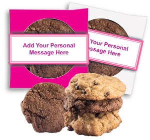 ITS A GIRL! 'CREATE-YOUR-OWN'  COOKIE SCONE SINGLES W/ MESSAGE