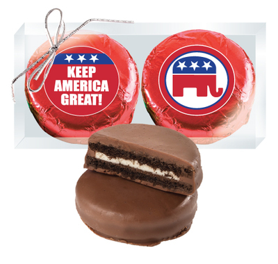 Republican Cookie Talk Chocolate Oreo Duo