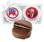 Republican Cookie Talk Chocolate Oreo Duo - Silver
