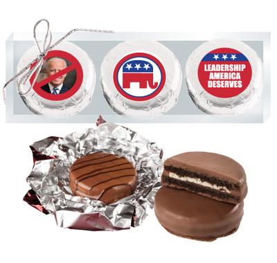 Republican Cookie Talk Chocolate Oreo Trio