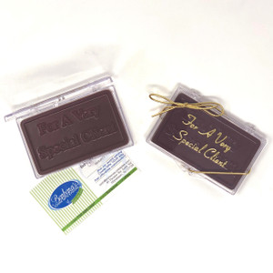 """""""FOR A VERY SPECIAL CLIENT"""" Chocolate Gift Case"""