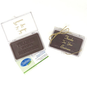 """THANK YOU FOR YOUR BUSINESS"" Chocolate Gift Case"