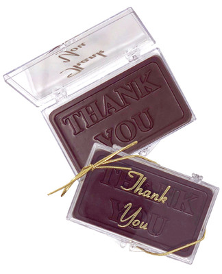 Thank You Chocolate Gift Case