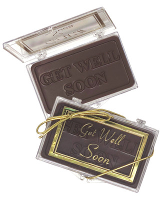 Get Well Soon Chocolate Gift Case