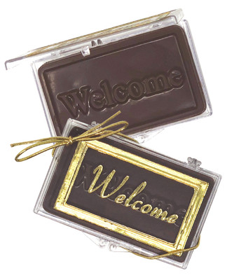 Welcome Chocolate Bar Gift Case