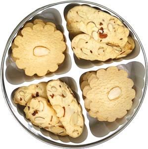 Almond Butter Cookie Assortment Tin