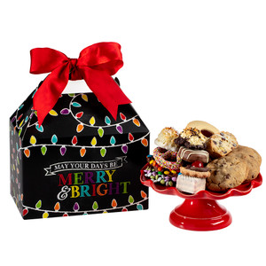Holiday Lights Tote Box of Treats