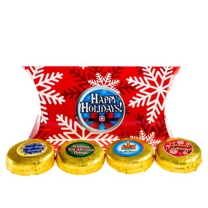 Holiday Pillowbox of Chocolate Oreos