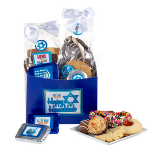 Hanukkah Basket Box of Treats