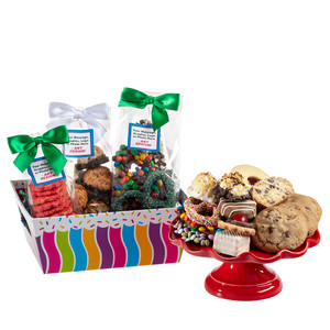 Happy Celebration Tray of Treats - Medium
