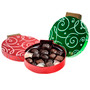 Chocolate Candy In Christmas Ornament Novelty Box