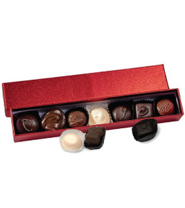 Chocolate Candy Red Sparkle Box