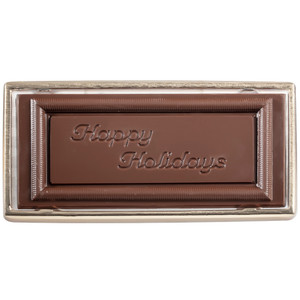 Happy Holidays  Chocolate Candy Bar Boxed