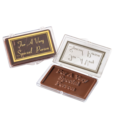 For A Very Special Person Chocolate Case
