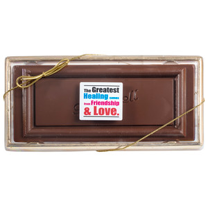 GET WELL CHOCOLATE CANDY BAR BOXED