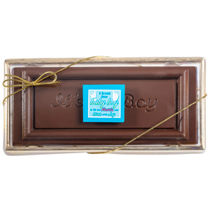 Its A Boy! Chocolate Candy Bar Boxed