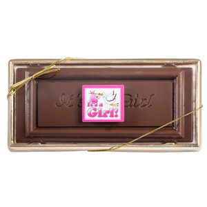 Baby Girl Chocolate Candy Bar Box