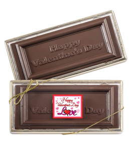 VALENTINES DAY CHOCOLATE CANDY BAR BOXED