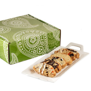 BISCOTTI  48 PC. DECORATIVE BOX