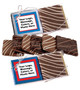 Custom Chocolate Graham Duo - Many Foil Colors