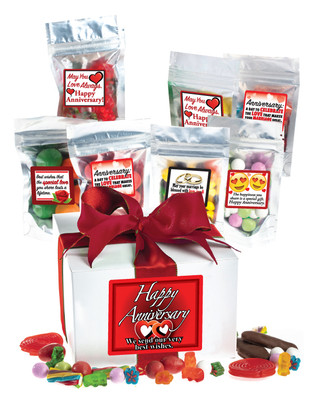Anniversary Assorted Candy Gift Box