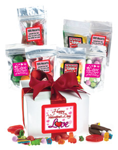 Valentines Day Candy Gift Box