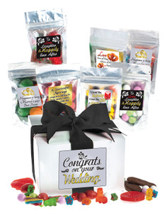WEDDING CANDY GIFT BOX