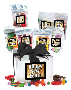 Happy New Year Candy Gift Box