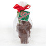 Mini Solid Chocolate Santa - Wrapped