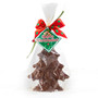 Mini Solid Chocolate Christmas Tree - Wrapped