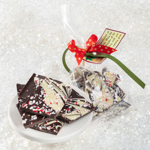 Peppermint Bark Favor Bag