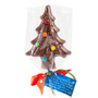 Solid Chocolate Christmas Tree Lollipop wrapped