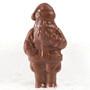 Mini Solid Chocolate Santa