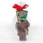 Mini Solid Chocolate Santa Wrapped