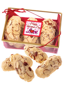 Valentines Day Almond Log  Sampler