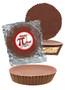 Pi Day Peanut Butter Candy Pie - Plain