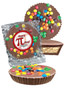 Pi Day Peanut Butter Candy Pie - M&M