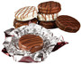 Chocolate Oreo Foils