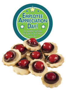 EMPLOYEE APPRECIATION CHOCOLATE CHERRY BUTTER COOKIES