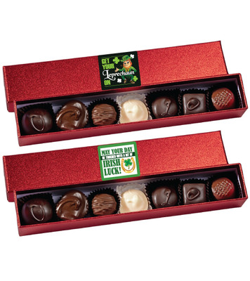 St Patrick's Day Chocolate Sparkle Candy Box