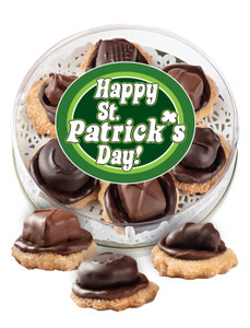 St Patrick's Day Chocolate Candy Cookies
