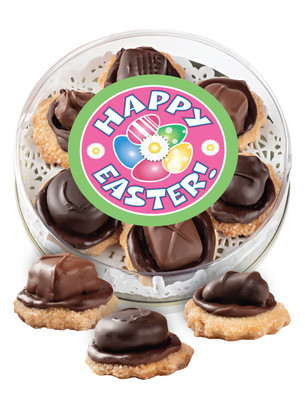 Easter Chocolate Candy Cookies