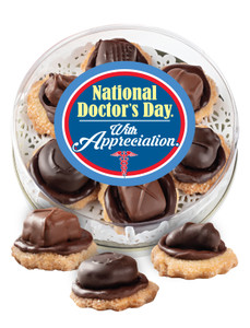 Doctor Appreciation Candy Cookies