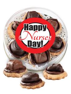 Nurse Appreciation Chocolate Candy Cookies