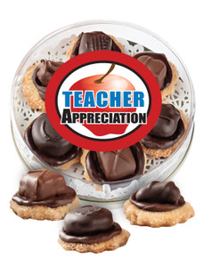 Teacher Appreciation Candy Cookies